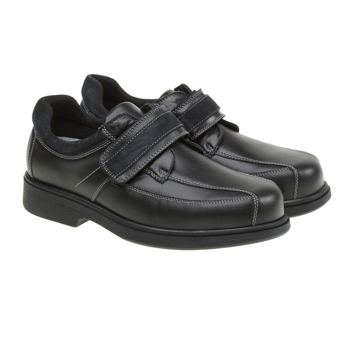 Leder-Sneakers bata, Schwarz, 834-6001 - 26