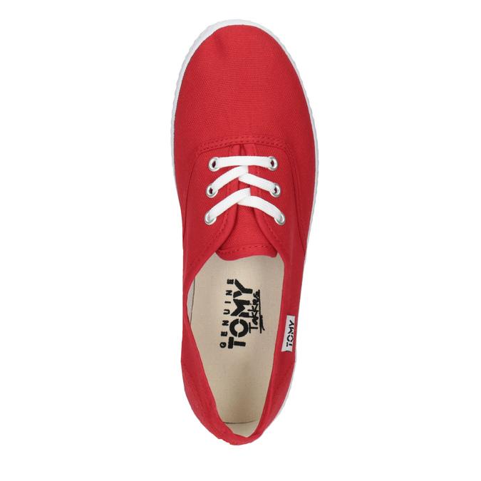 Rote Damen-Sneakers tomy-takkies, Rot, 519-5691 - 19