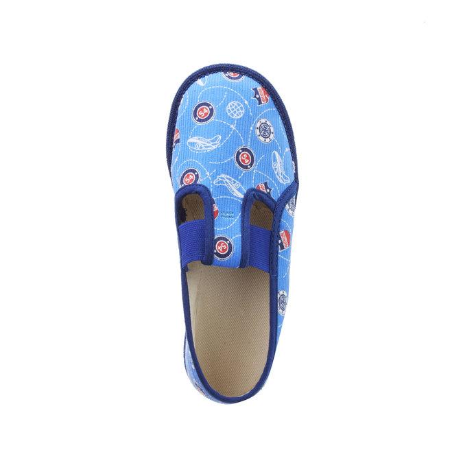 Kinder-Pantoffeln bata, Blau, 279-9011 - 19