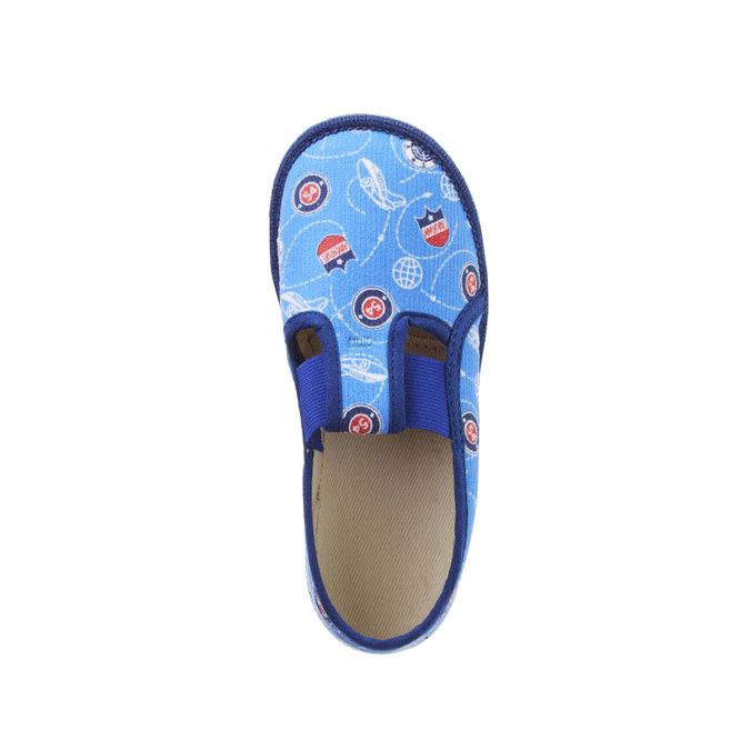 Kinder-Pantoffeln bata, Blau, 179-0105 - 19