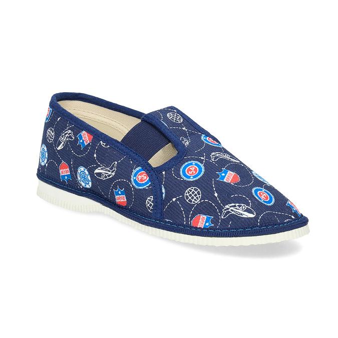 Kinder-Pantoffeln bata, Blau, 379-9012 - 13