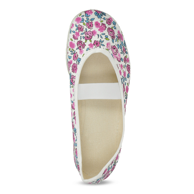 Kinder-Turnschuhe mit Muster, Weiss, Rosa, 379-5001 - 17
