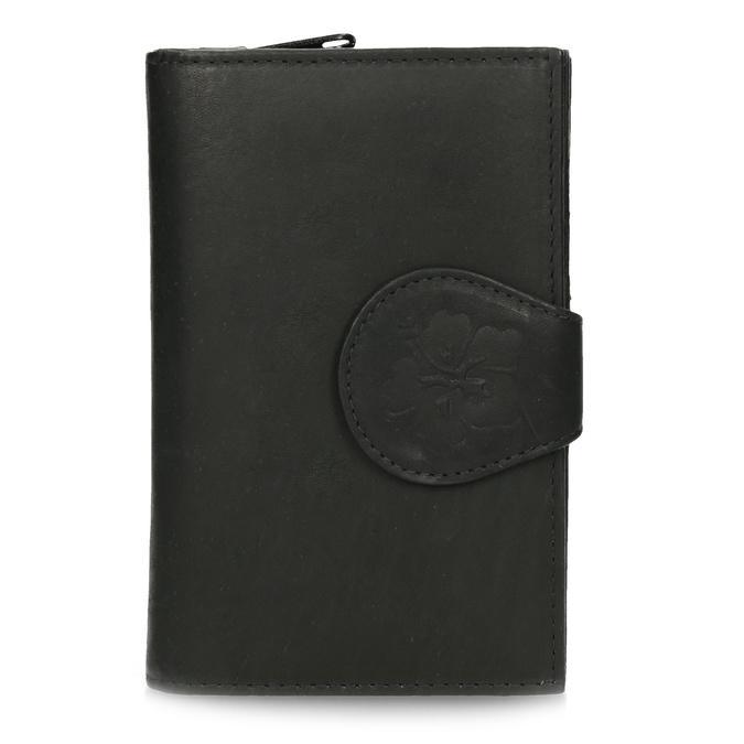 Damen-Geldbörse aus Leder bata, Schwarz, 944-6155 - 26