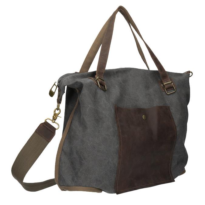 XXL-Tasche mit Gurt weinbrenner, Grau, 969-2620 - 13