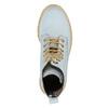 Knöchelschuhe aus Leder mit transparenter Sohle weinbrenner, Blau, 596-9639 - 19