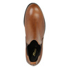 Damen-Chelsea-Boots aus Leder bata, Braun, 594-3902 - 19