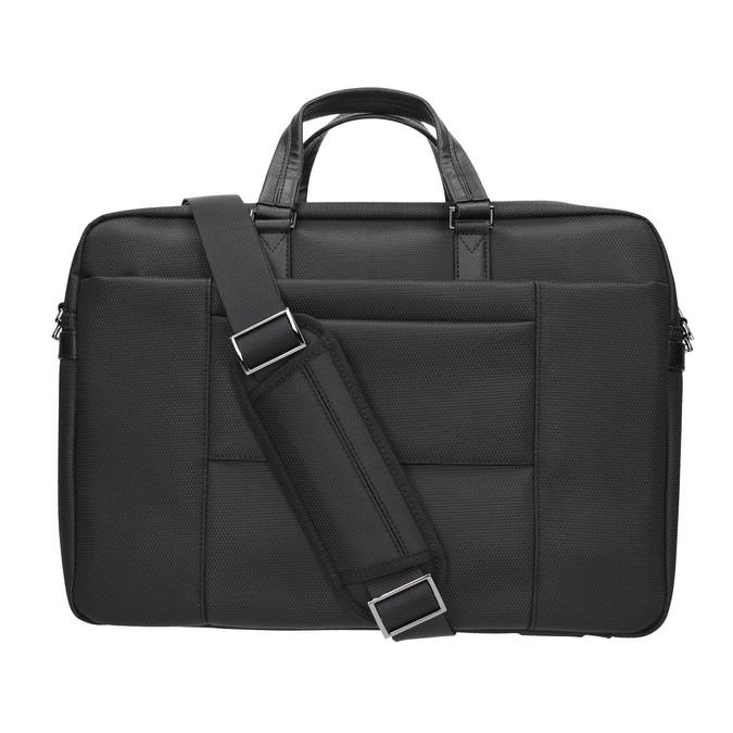 Schwarze Tasche für das Notebook roncato, Schwarz, 969-6640 - 19