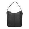 Schwarze Hobo-Bag aus Leder bata, Schwarz, 964-6254 - 26