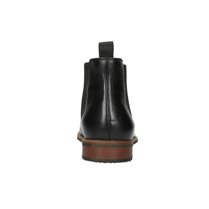Chelsea Boots aus Leder bata, Schwarz, 894-6666 - 17