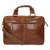 Braune Herrentasche aus Leder bata, Braun, 964-3204 - 26