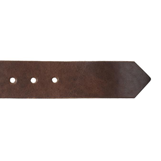 Brauner Ledergürtel bata, Braun, 954-4129 - 16