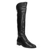 Overknee-Damenstiefel aus Leder bata, Schwarz, 594-6605 - 13