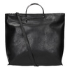 Damenhandtasche mit Metallhenkeln bata, Schwarz, 961-6789 - 19