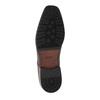 Herrenhalbschuhe im Derby-Stil aus Leder bata, Braun, 824-4752 - 26