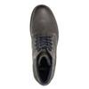 Knöchelschuhe aus Leder bata, Grau, 894-2643 - 26