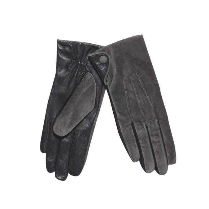 Damen-Lederhandschuhe, Grau, 903-2101 - 13