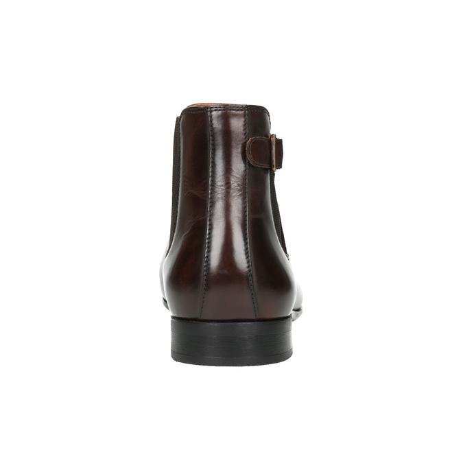 Herren-Knöchelschuhe aus Leder bata, Braun, 896-4655 - 17