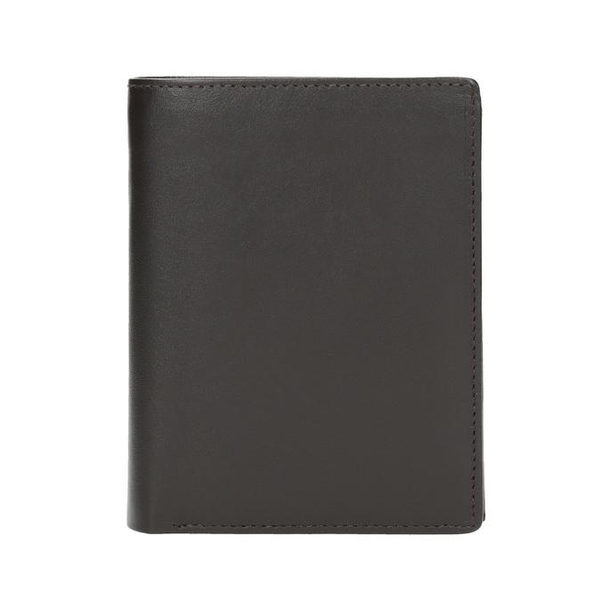 Herren-Geldbörse aus Leder bata, Braun, 944-4169 - 26