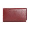 Damen-Geldbörse aus Leder, Rot, 944-5357 - 26