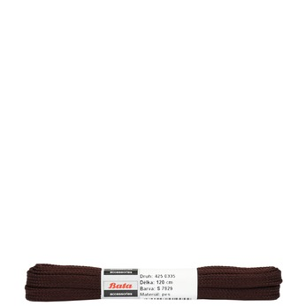Braune, flache Schnürsenkel, Braun, 901-4120 - 13