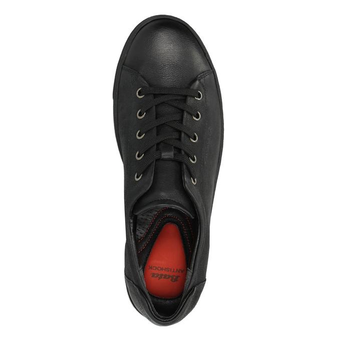 Damen-Sneakers aus Leder bata, Schwarz, 524-6349 - 19