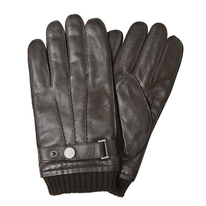 Lederhandschuhe für Herren, Braun, 904-4127 - 13