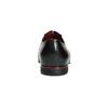 Schwarze Lederhalbschuhe im Oxford-Stil conhpol, Schwarz, 824-6868 - 17