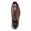 Braune Herrenhalbschuhe aus Leder bata, Braun, 826-4800 - 19