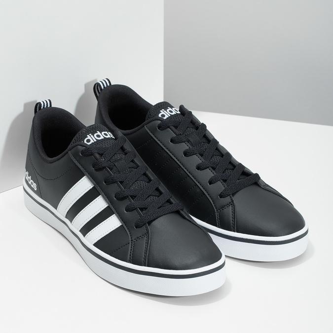 Legere Herren-Sneakers adidas, Schwarz, 801-6136 - 26