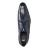 Blaue Herrenhalbschuhe aus Leder bata, Blau, 826-9836 - 19