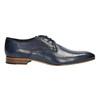 Blaue Herrenhalbschuhe aus Leder bata, Blau, 826-9836 - 15