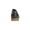 Blaue Lederhalbschuhe bata, Blau, 826-9801 - 17