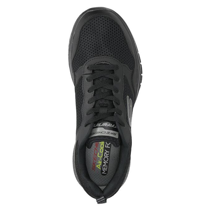 Herren-Sneakers mit Memory-Schaum skechers, Schwarz, 809-6141 - 19