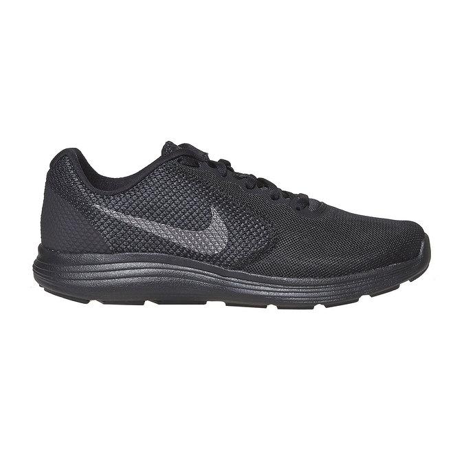 Schwarze, sportliche Herren-Sneakers nike, Schwarz, 809-6149 - 15