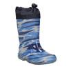 Kinderstiefel mit Muster mini-b, Blau, 192-9110 - 13