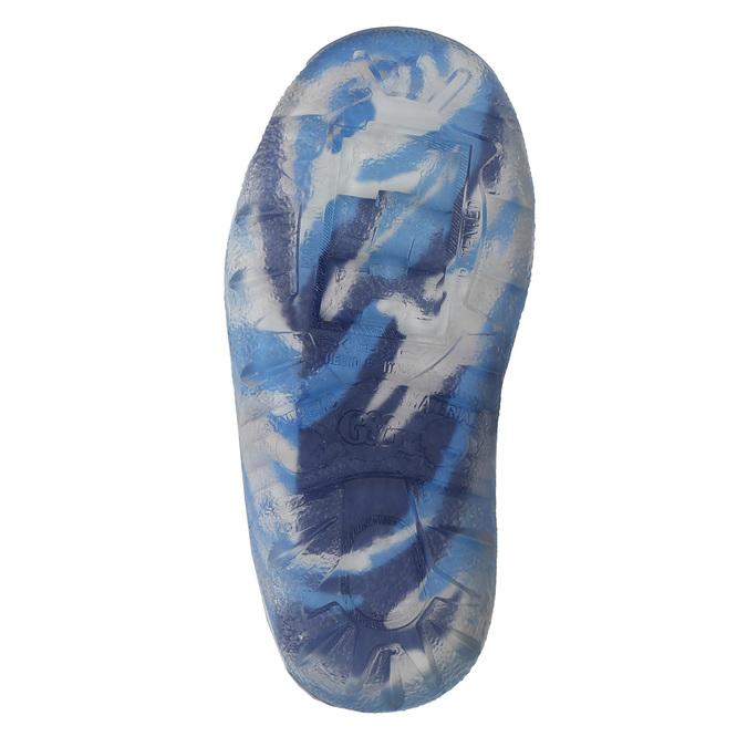 Kinderstiefel mit Muster mini-b, Blau, 192-9110 - 26