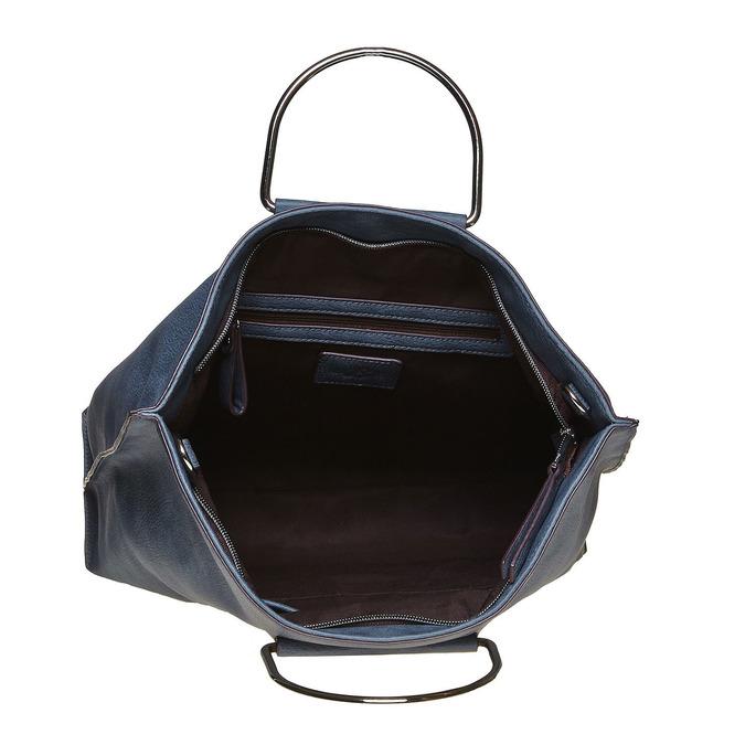 Blaue Damenhandtasche bata, Blau, 961-9327 - 15
