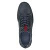Legere Sneakers aus geschliffenem Leder bata, Blau, 846-9639 - 17