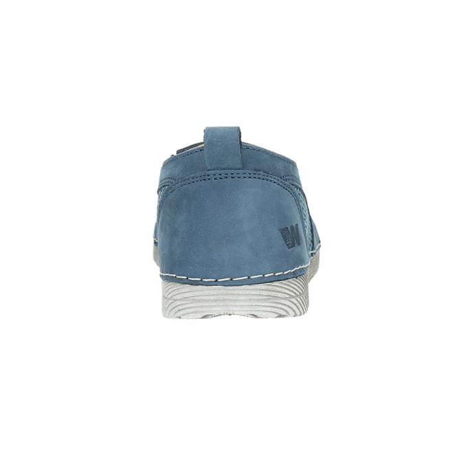 Blaue Slip-Ons weinbrenner, Blau, 513-9263 - 17
