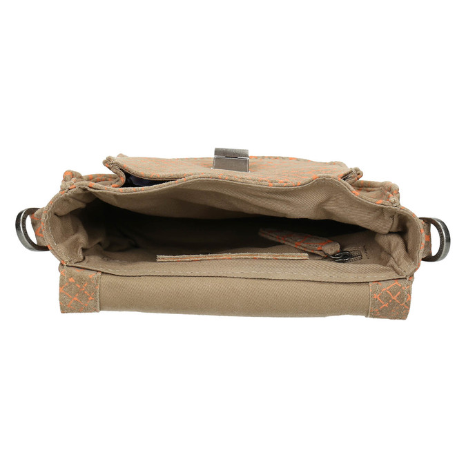 Crossbody-Damenhandtasche aus Leder fredsbruder, Braun, 963-8032 - 15