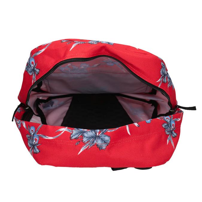Roter Rucksack mit Muster vans, Rot, 969-5093 - 15