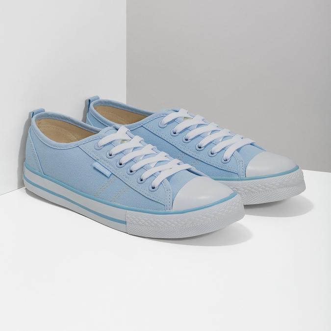 Blaue Damen-Sneakers north-star, Blau, 589-9443 - 26