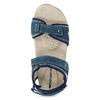 Damensandalen aus Leder weinbrenner, Blau, 566-9608 - 17