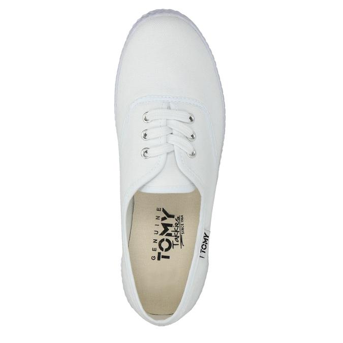 Weisse Damen-Sneakers tomy-takkies, Weiss, 589-1180 - 19