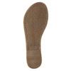 Schwarze Sandalen aus Leder bata, Schwarz, 564-6600 - 26