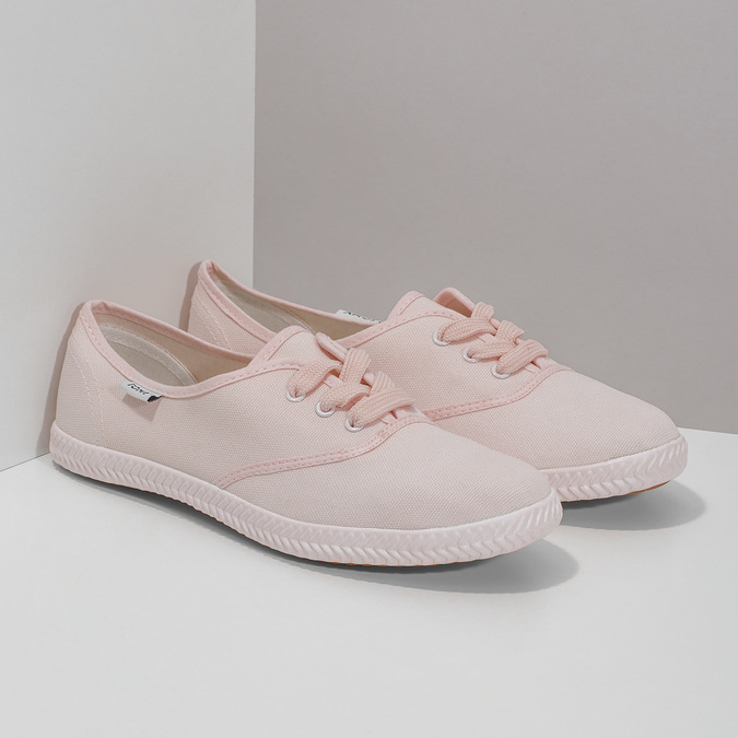 Rosa Damen-Sneakers tomy-takkies, Rosa, 589-5180 - 26