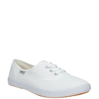 Weisse Damen-Sneakers tomy-takkies, Weiss, 589-1180 - 13