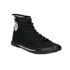 Schwarze, knöchelhohe Sneakers tomy-takkies, Schwarz, 589-6173 - 13