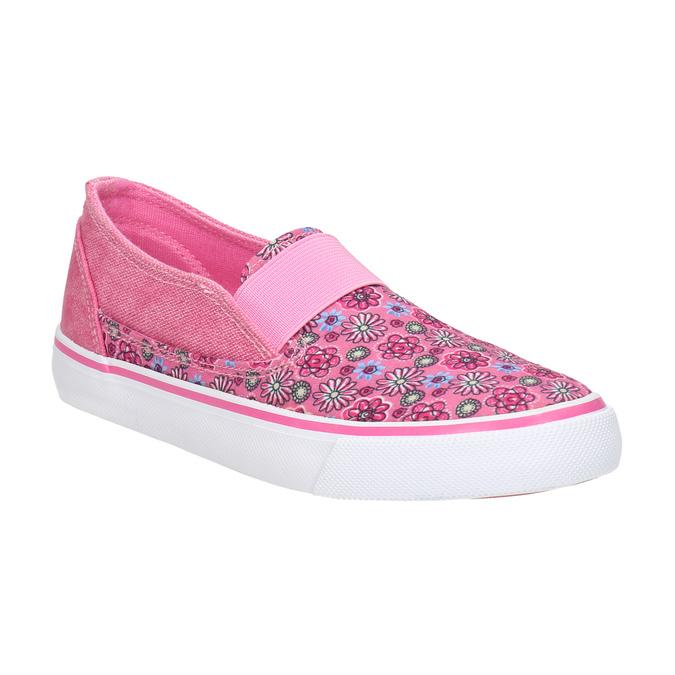 Gemusterte Mädchen-Slip-Ons mini-b, Rosa, 329-5611 - 13