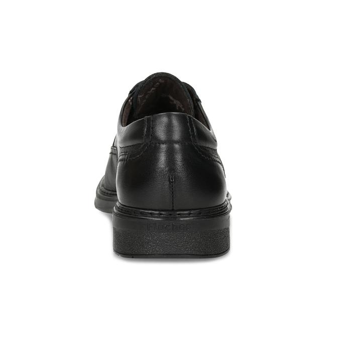 Herrenhalbschuhe aus Leder fluchos, Schwarz, 824-6448 - 15